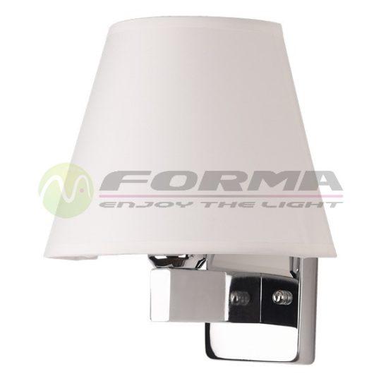 Zidna lampa F91-1 hrom
