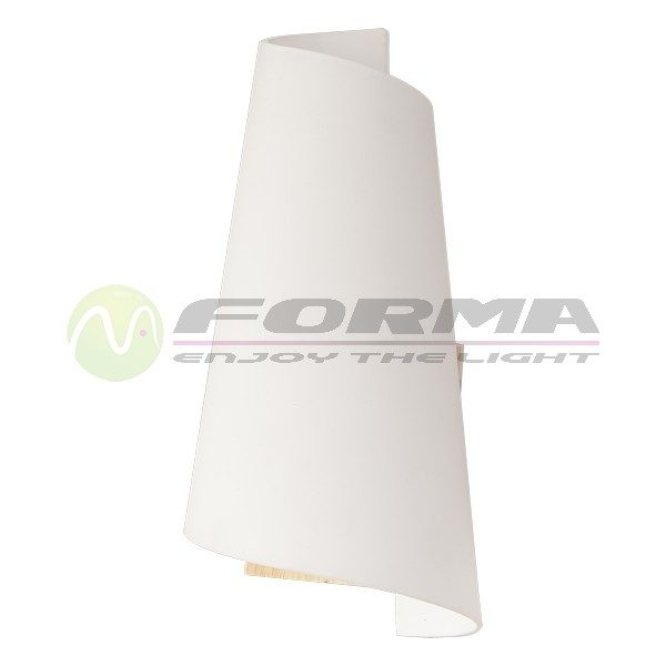 Zidna lampa F92-2 natur-belo