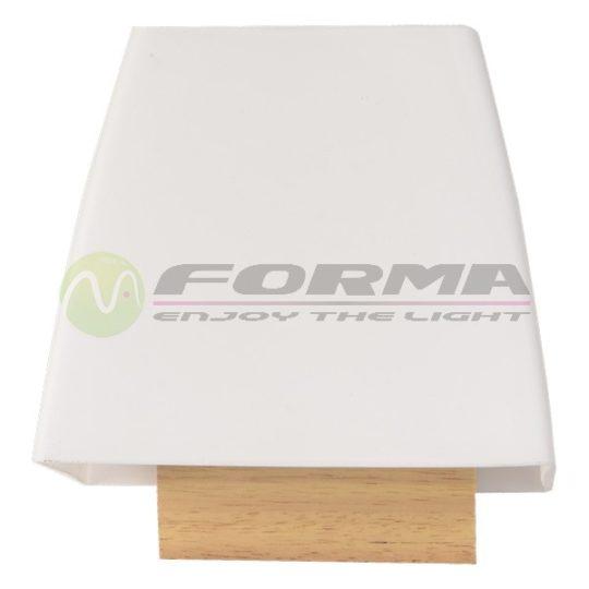 Zidna lampa F92-3 natur-belo