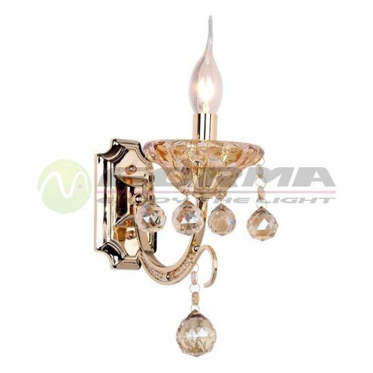 Zidna lampa ML1404-1 zlatna