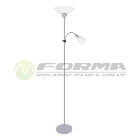 Podna lampa F7114-2F bela