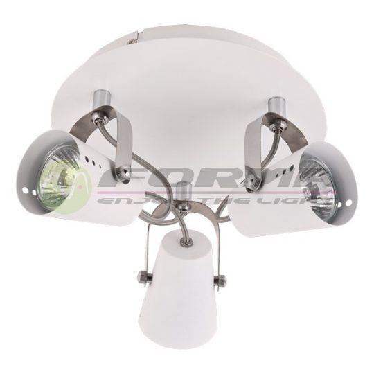 Spot lampa FG102-3C bela