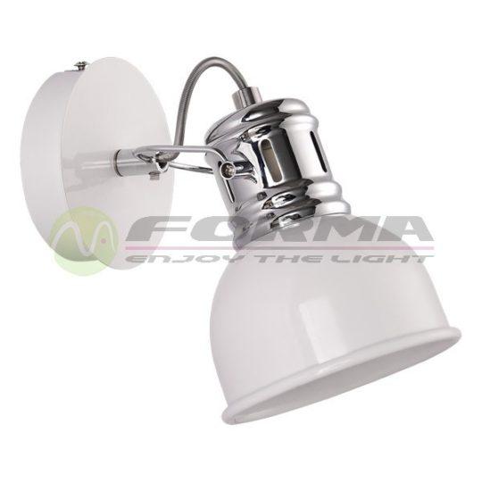Spot lampa FE403-1 bela