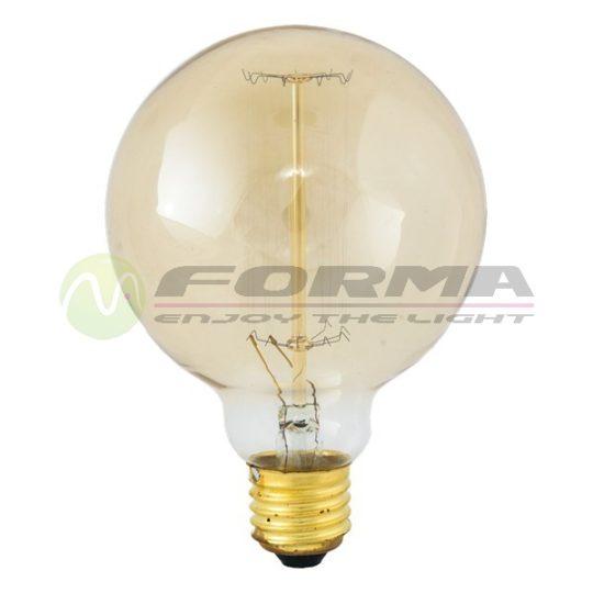 Edison sijalica G95 60W