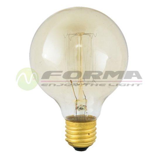 Edison sijalica G80 60W