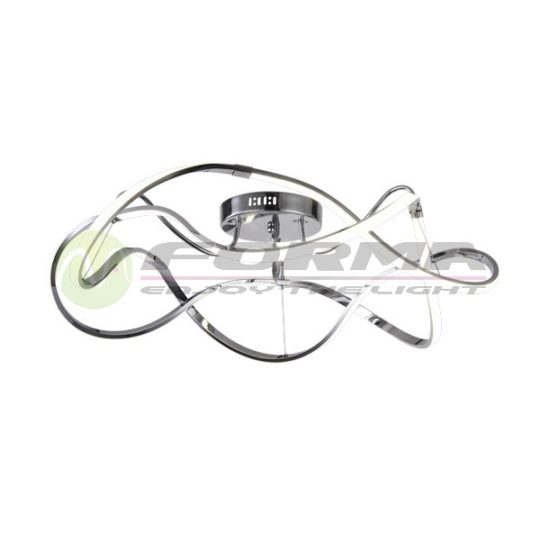 Led plafonska lampa F2012-100C hrom