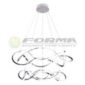 Led viseća lampa F2012-150V hrom