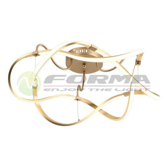 Led plafonska lampa F2012-68C zlatna