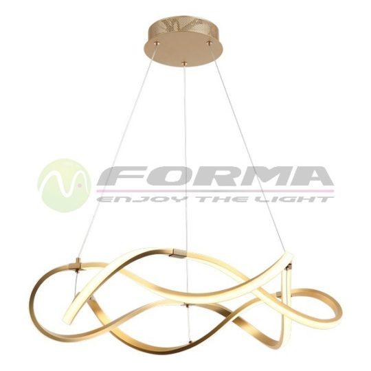 Led viseća lampa F2012-68V zlatna