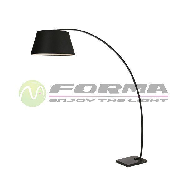 Podna lampa F7121-1F crna