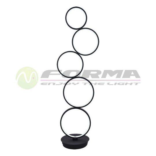 LED Podna lampa F2014-40 crna