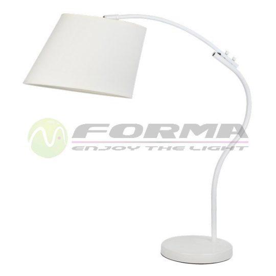 Stona lampa F7106-1T bela