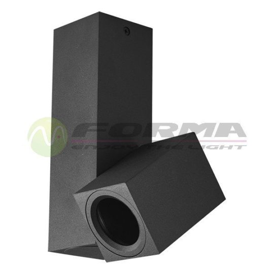 Plafonska lampa AFS101-1C crna